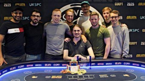 GUKPT Mains Won by Euan Mcnicholas for £165,800
