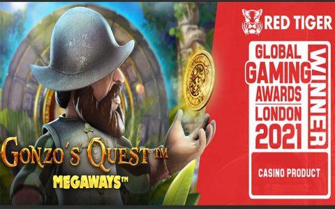 Gonzo's Quest Megaways has won a big casino award in London
